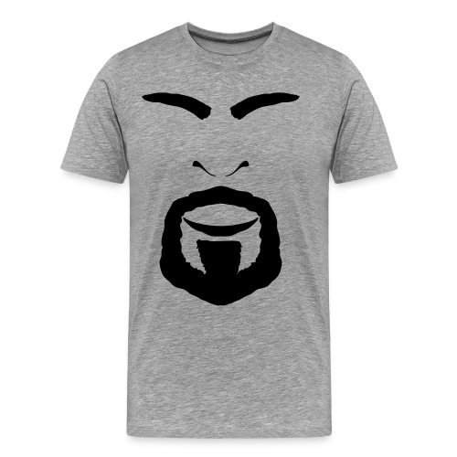 FACES_ANGRY - Men's Premium T-Shirt