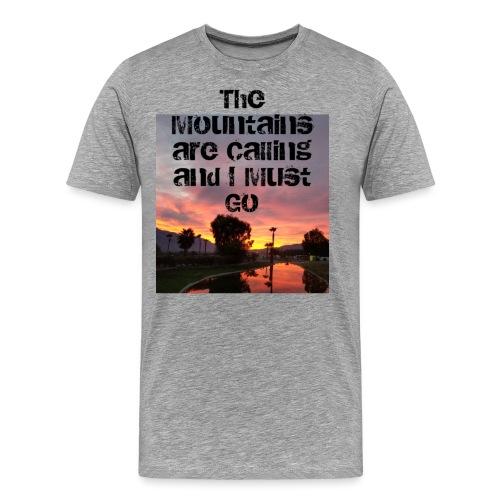mountains - Men's Premium T-Shirt