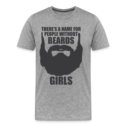 Beards4 png - Men's Premium T-Shirt
