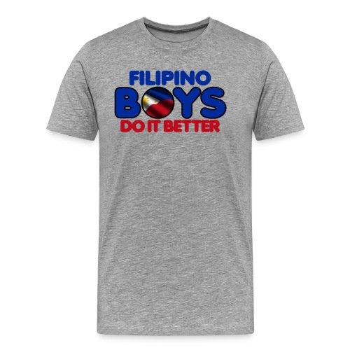 2020 Boys Do It Better 05 Filipino - Men's Premium T-Shirt