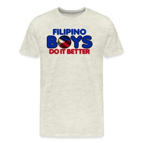 2020 Boys Do It Better 05 Filipino - Men's Premium T-Shirt