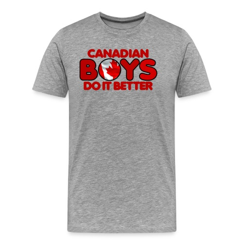 2020 Boys Do It Better 04 Canadian - Men's Premium T-Shirt
