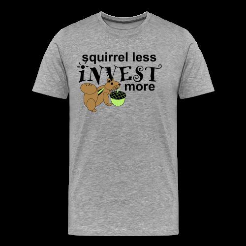 Investing Squirrel - Men's Premium T-Shirt
