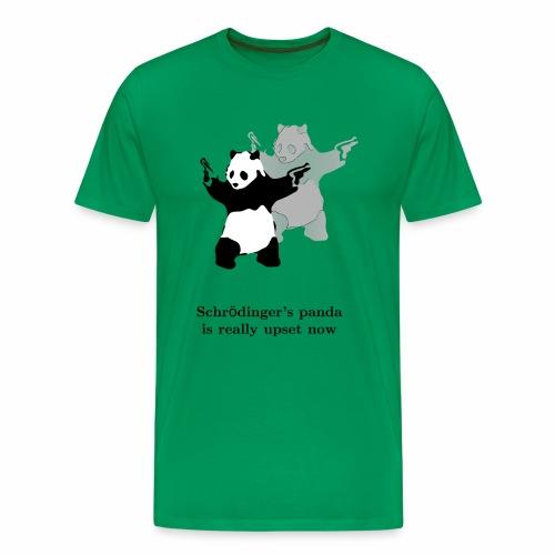 Schrödinger's panda is really upset now - Men's Premium T-Shirt