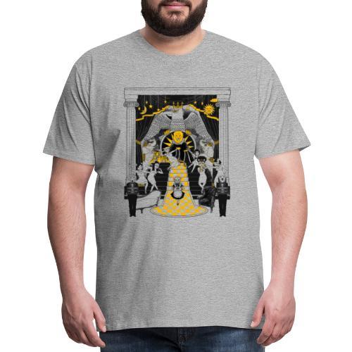 turmeric chai tee - Men's Premium T-Shirt