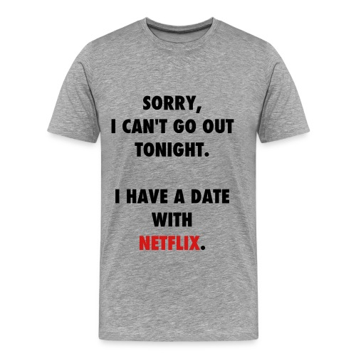 netflix - Men's Premium T-Shirt