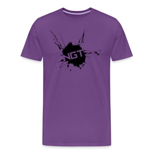Womens Splatter - Men's Premium T-Shirt