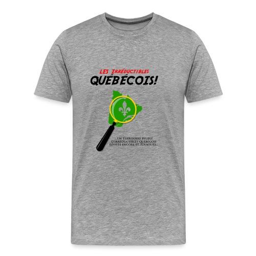Irréductibles Québécois - Men's Premium T-Shirt