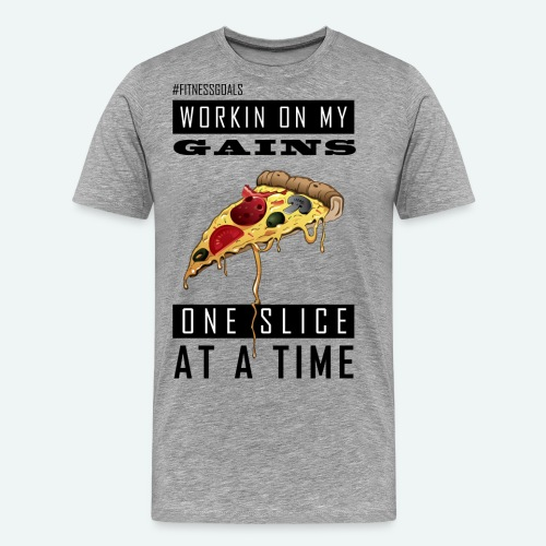 Workin On My Gains - Men's Premium T-Shirt