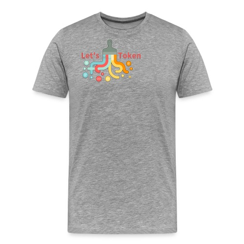 Let's Token by Glen Hendriks - Men's Premium T-Shirt