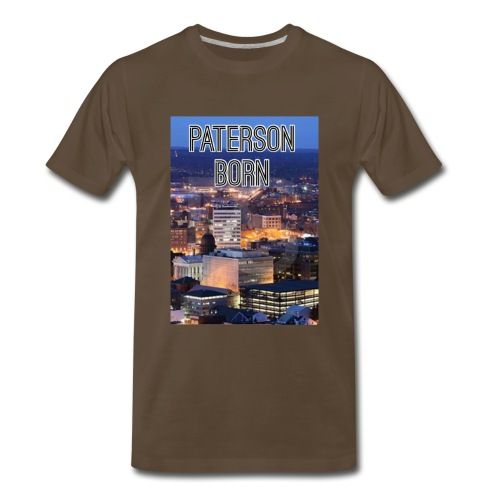 Paterson Born - Men's Premium T-Shirt