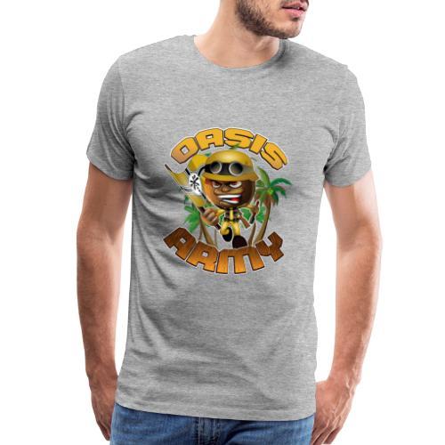Oasis Army Coconot Logo - Men's Premium T-Shirt