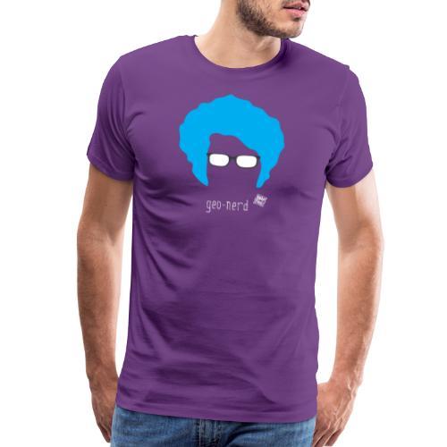 Geo Nerd (him) - Men's Premium T-Shirt