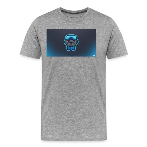 Pug icon - Men's Premium T-Shirt