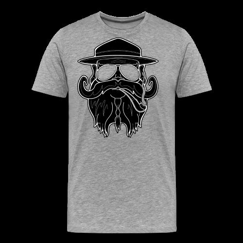 OldSchoolBiker - Men's Premium T-Shirt