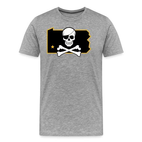 Bones PA (Sticker) - Men's Premium T-Shirt