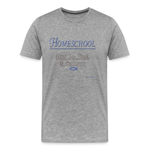 Homeschool Freedom - Men's Premium T-Shirt