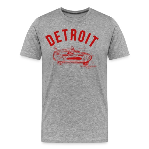 Detroit Art Project - Men's Premium T-Shirt