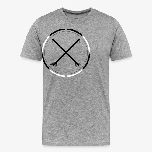 Cross Arrows - Men's Premium T-Shirt