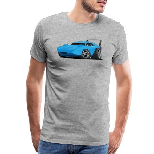 Classic American Winged Muscle Car Hot Rod - Men's Premium T-Shirt