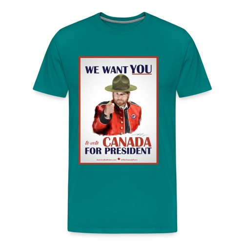 wewantyou - Men's Premium T-Shirt