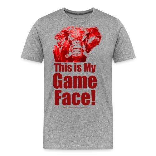 This my Game Face_revised - Men's Premium T-Shirt