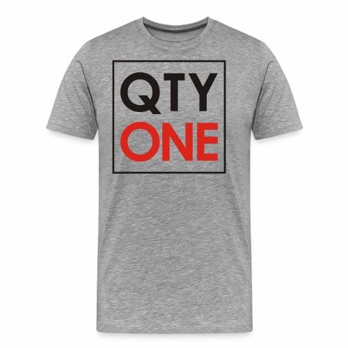 QTYONE Logo - Men's Premium T-Shirt