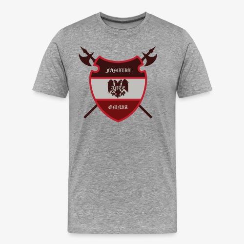 House Pendragon Crest - Family Before All - Men's Premium T-Shirt