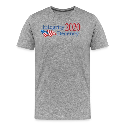Vote for real American values! - Men's Premium T-Shirt