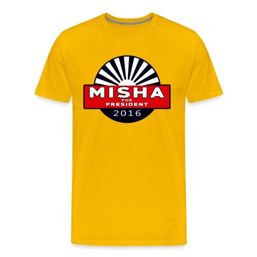 Misha For President - Men's Premium T-Shirt