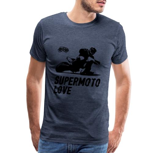 Supermoto Love - Men's Premium T-Shirt