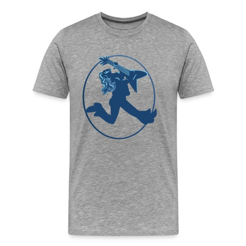 iROCK Circle - Men's Premium T-Shirt