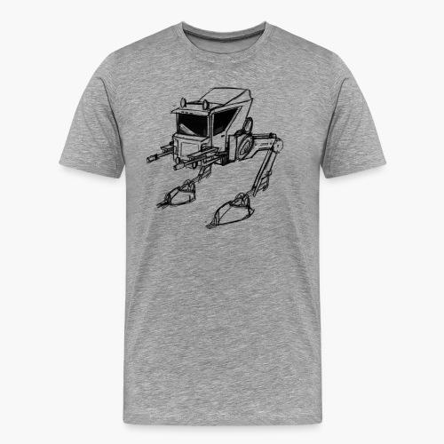 walker png - Men's Premium T-Shirt