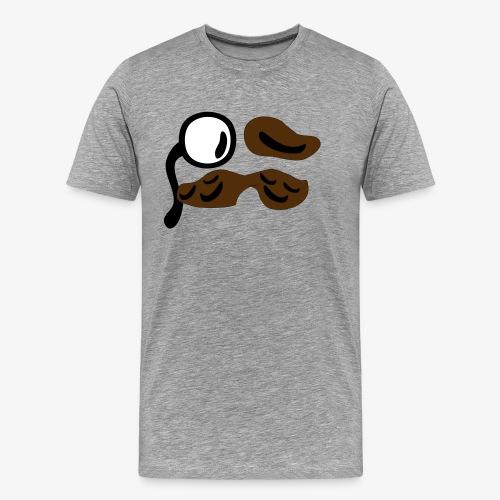 mustachio - Men's Premium T-Shirt