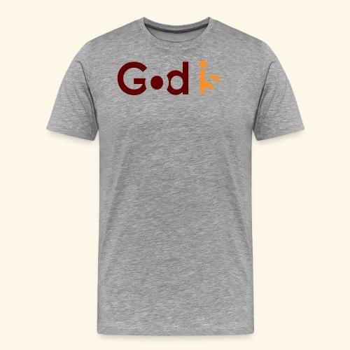 GOD IS #5 - Men's Premium T-Shirt