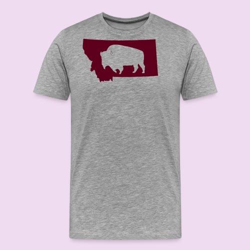 Bison Montana - Men's Premium T-Shirt