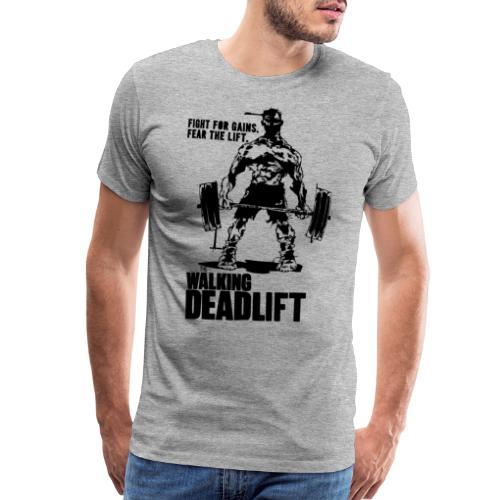 The Walking Deadlift - Men's Premium T-Shirt