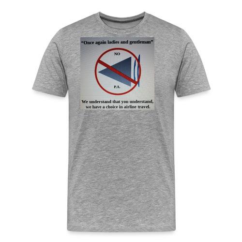 Travel Shirt - Men's Premium T-Shirt