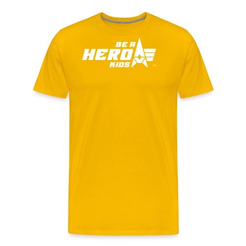 BHK primary white TM - Men's Premium T-Shirt