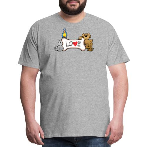 Pet Love - Men's Premium T-Shirt