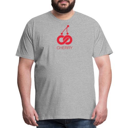 Cherry Red Logo - Men's Premium T-Shirt