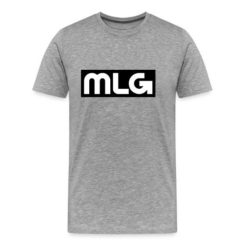 MLG_GOD sweater - Men's Premium T-Shirt