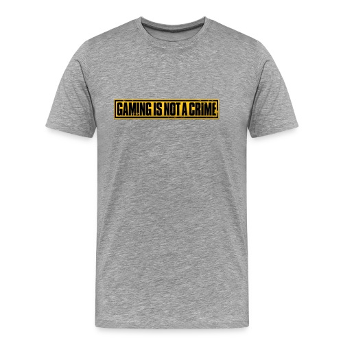 Gaming is not a Crime - Men's Premium T-Shirt