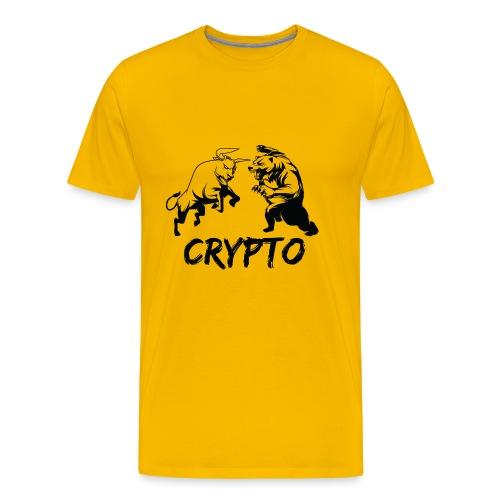 CryptoBattle Black - Men's Premium T-Shirt