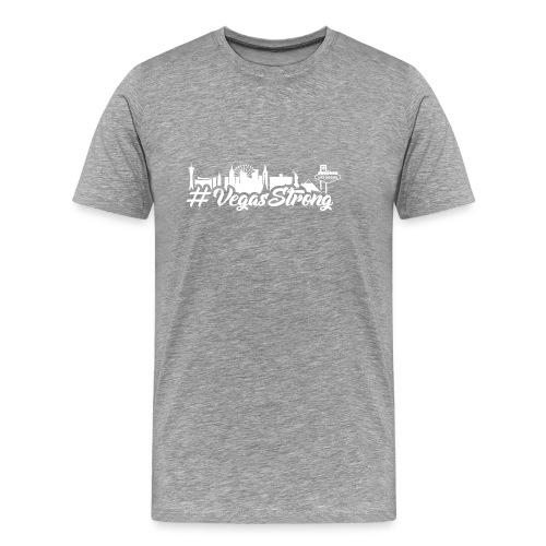 VegasStrong2wht - Men's Premium T-Shirt