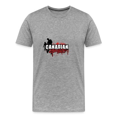 Canadian Zombie - Men's Premium T-Shirt