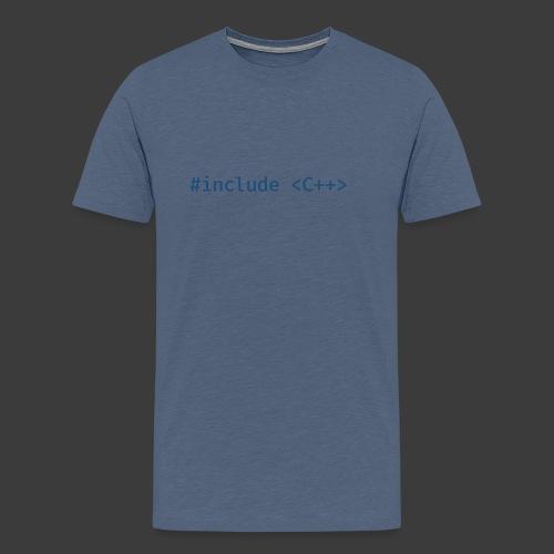 Include Original (Light Background) - Men's Premium T-Shirt