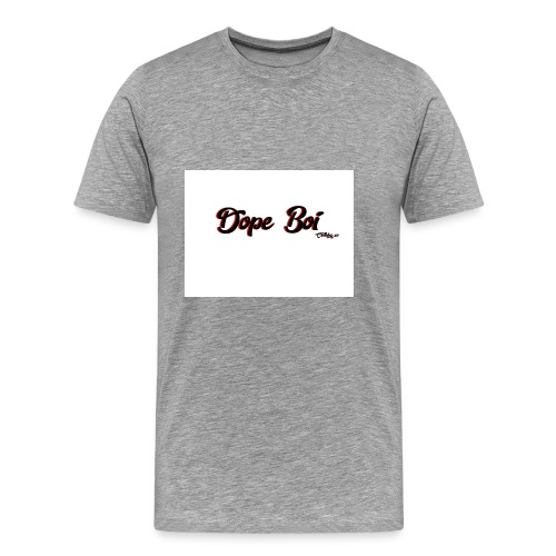 Dope boi logo red and black - Men's Premium T-Shirt