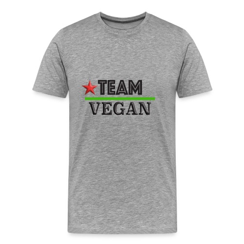 TEAM VEGAN - Men's Premium T-Shirt