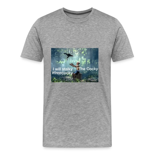 Stalky The Cocky Clothing - Men's Premium T-Shirt